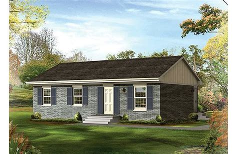 1000 square foot homes 1000 square feet 3 bedrooms 2 batrooms 2 parking space on 1 levels house plan 19452 all