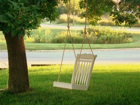 tree swing chair the simple solution mom dining room chair tree swing