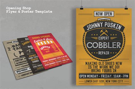 now open flyer template opening shop flyer poster template flyer templates on