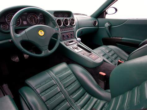 ferrari custom interior file 1999 ferrari 550 maranello interior jpg wikimedia