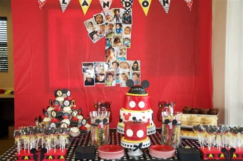 Mickey Mouse Dessert Table 98 best images about mickey mouse birthday ideas on