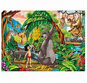 Super Colour Maxi The Jungle Book  104 Piece Puzzle