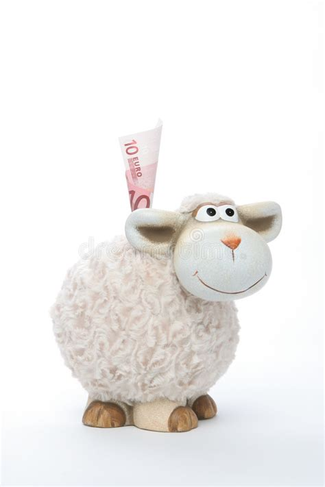 sheep piggy bank sheep coin bank with stock photo image of culture