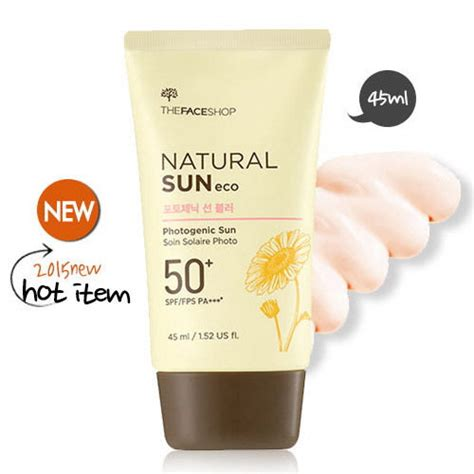 The Faceshop Sun Eco box korea the shop sun eco