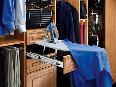 Closet Ironing Board 3 smart closet upgrades hgtv