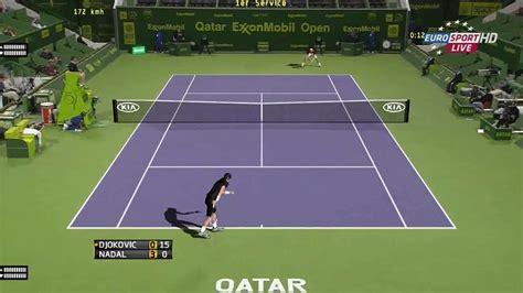 tennis elbow pc best point nadal vs djokovic atp qatar