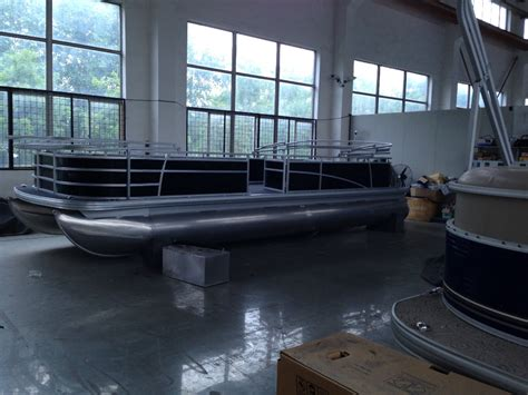 small aluminum catamaran fishing boats aluminum pontoon passenger catamaran boat buy aluminum