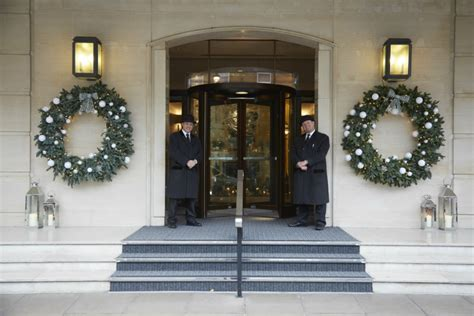 most luxurious hotels with the best christmas window