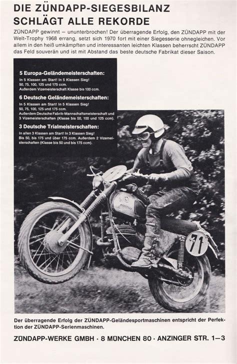 Motorrad Z Ndapp by Z 252 Ndapp Gs Werkstechnik Bj 1971 Enduro Klassik De