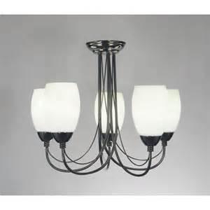 black chrome ceiling lights dar lighting 5 light low energy ceiling fitting