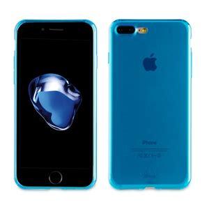 fundas apple iphone 7 plus muvit funda crystal soft lite azul ultrafina apple iphone