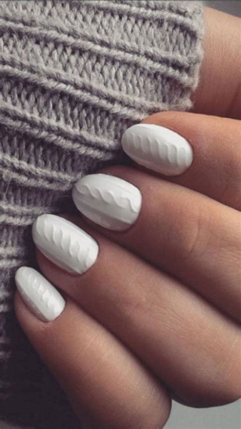 knit pattern nails this trend looks like you re wearing miniature sweaters on