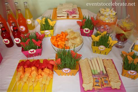 party themes with food butterfly food ideas archives events to celebrate