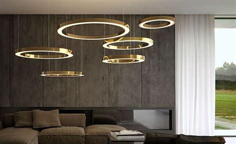 modelli di soggiorni moderni i ladari moderni soggiorno arredare con la luce