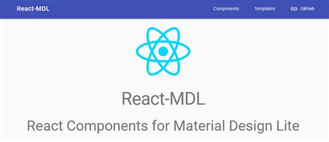 pinterest layout react react mdl merges react with material design lite hongkiat