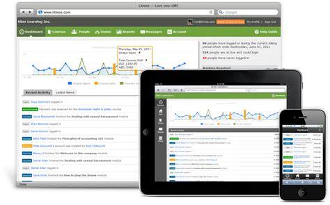 online tutorial management system cloud based lms mobile learning management system