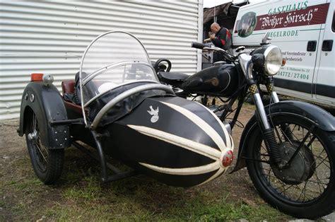 Dkw Motorrad Mit Beiwagen ddr ifa mz bk 350 falke gespann seitenwagen beiwagen