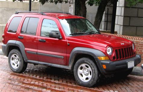 red jeep liberty 2005 file 2005 2007 jeep liberty 01 13 2010 jpg wikimedia