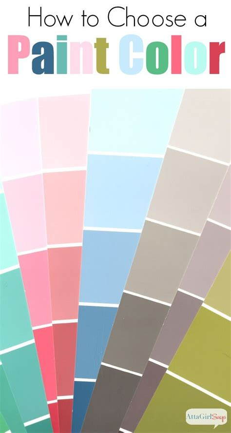 tips for picking paint colors 12 tips for choosing paint colors