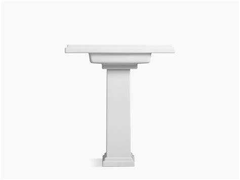 30 inch pedestal sink k 2845 8 tresham 30 inch pedestal sink with 8 inch