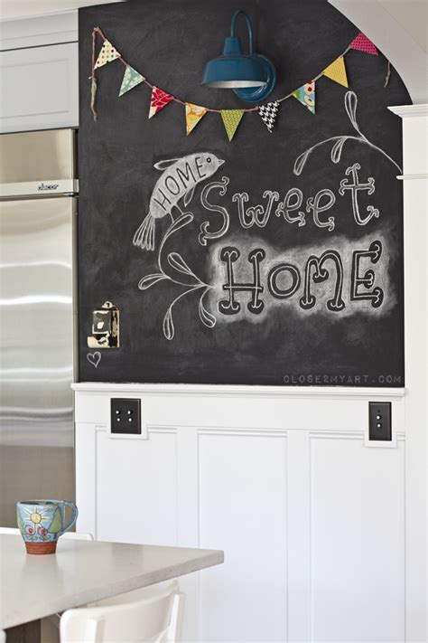chalkboard home decor home tour chalkboard wall letter a wall allen designs