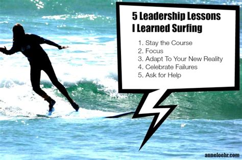 surf s up five leadership lessons i learned from surfing