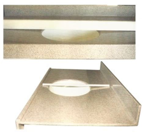 corian no drip edge features countertops shower shapes