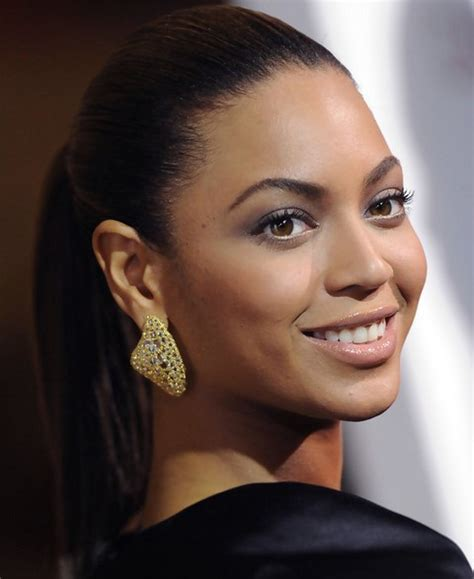 Pony Hairstyles For Oval Face | top 23 beyonce knowles hairstyles pretty designs