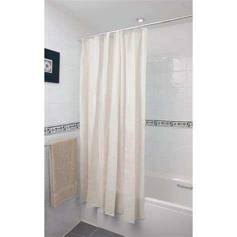 plain shower curtain b m plain shower curtain 180 x 180cm 302725 b m
