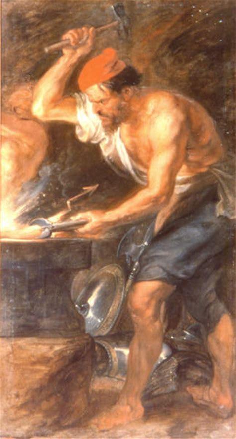 imagenes de hefesto dios del fuego hefesto