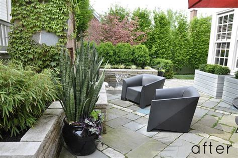 renovate backyard before and after best of outdoors design sponge