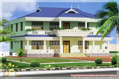 kerala style houses with elevation and plan kerala style house elevation 1976 sq ft kerala home design and floor plans