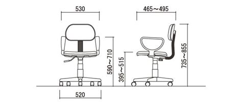 average office chair height 17 best images about standard dimension on