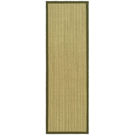 safavieh fiber 2 ft x 10 ft rug runner
