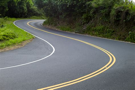 and winding road driving s famed highway to