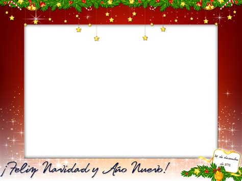 imagenes navideñas png gratis marcos navide 241 os para fotos digitales gratis