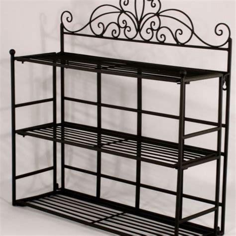 shabby chic black metal wall shelf storage unit amazing