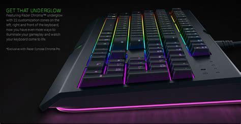 Keyboard Razer Cynosa Chroma razer cynosa chroma multi color rgb wired gaming keyboard