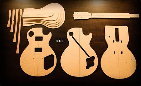 les paul top carving template henriks guitars 59 les paul template set reverb
