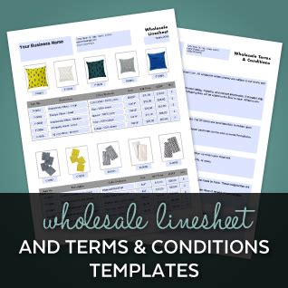 wholesale terms and conditions template resources craft industry alliance