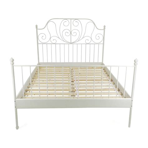 Ikea White Iron Bed Frame Ikea Metal Bed Frame Metal Bed Frame Ikea Bedding Sets Large Size Of Bed Frames Wallpaperhd