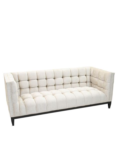 old hickory tannery sofa old hickory tannery ivory hand tufted sofa gilt home