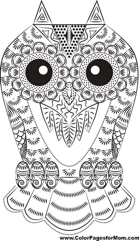 owl mandala coloring pages free coloring pages of owl mandala