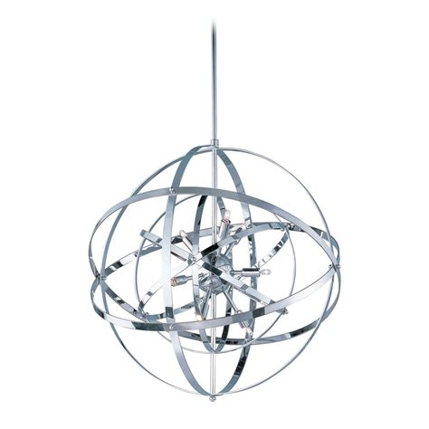 chrome orb chandelier 28 images new modern 5 light orb - Chrome Orb Chandelier