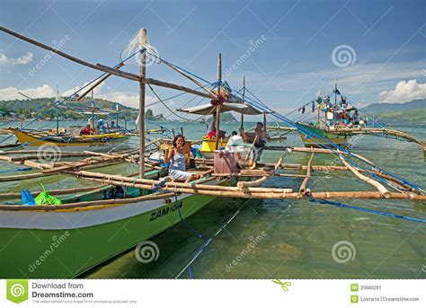 fishing boat business philippines philippine fishing boats editorial photo image 20680291