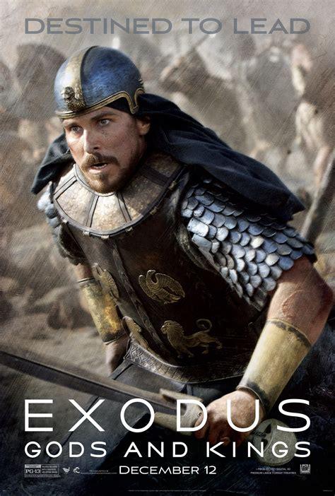 exodus movie exodus gods and kings uk trailer and new posters