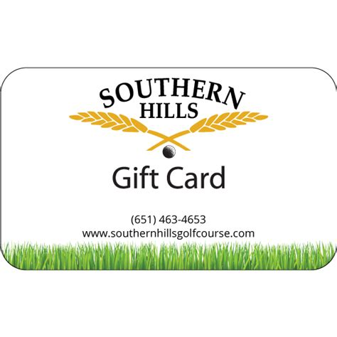 Gift Cards For Golf Courses - gift card southern hills golf course farmington mn