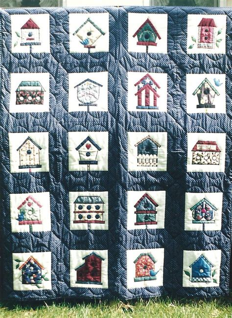 Birdhouse Quilt by 17 Best Images About Bird And Birdhouse Quilts On