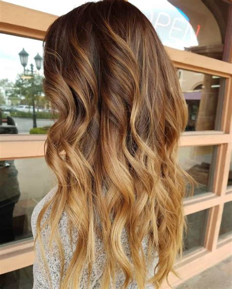add warmth to blonde 7 warm brown hair colors women will adore hairstylec