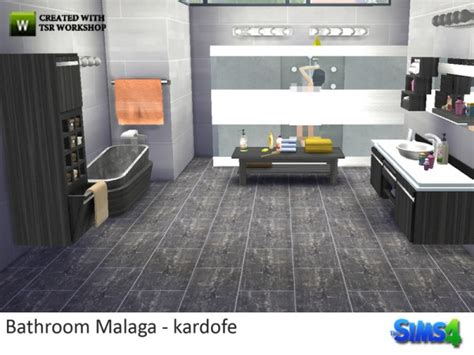 bathroom supplies malaga the sims resource bathroom malaga by kardofe sims 4